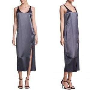NWT Diane Von Furstenberg Lyla Satin Slip Dress